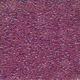 11/0 JAPANESE SEEDBEADS  10GM MATTE RED AB