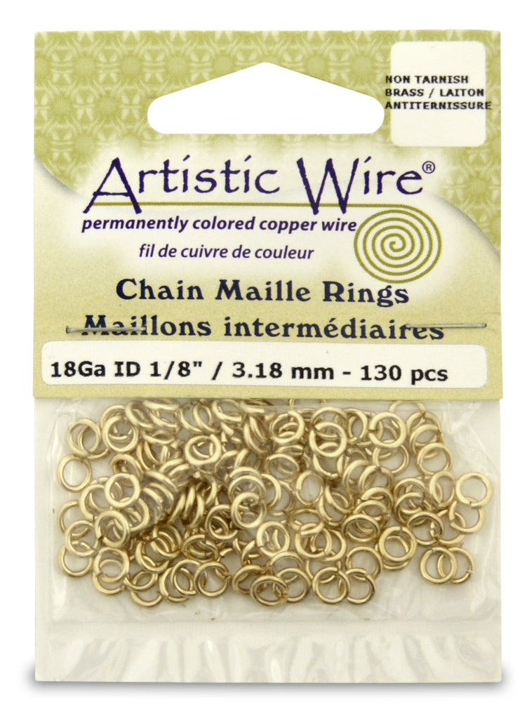 Brass Chainmaille Bracelet X-Shaped Chainmaille Bracelet Cross Bracelet in Chainmaille