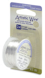 Artistic Wire, 24 Gauge (.51mm), Silver Plated, Tarnish Resistant Silver, 10 yd (9.1 m)