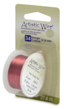 Artistic Wire, 34 Gauge (.16 mm), Red, 30 yd (27.4 m)