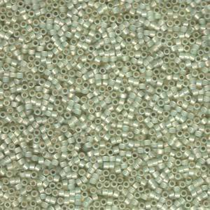 11/0   DELICA BEAD S/L PALE LIME OPAL APRX 7.2 GM