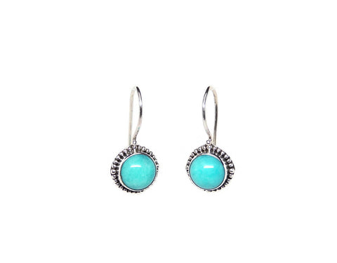 Earring12Amazonite
