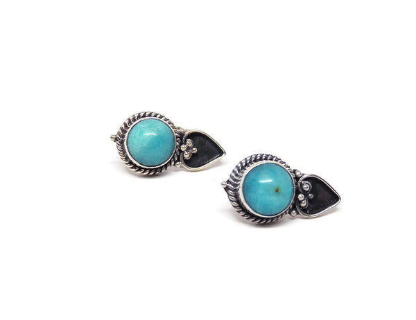 Earring19Amazonite2
