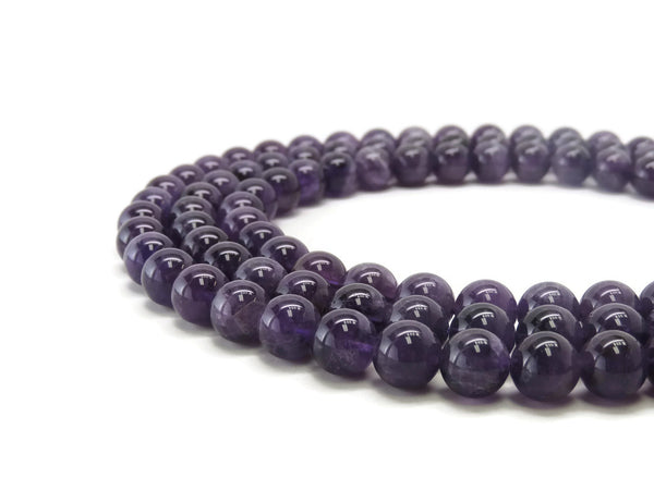PurpleEggplantJadeSmoothRound12mm