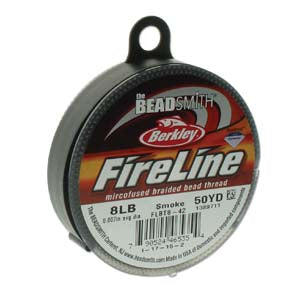 8 LB FIRELINE SMOKE GREY .007 IN/.17MM DIA 50 YRD