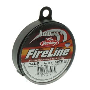14 LB FIRELINE SMOKE GREY .009 IN/.22MM DIA 50 YRD