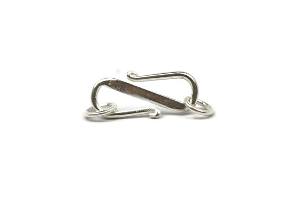 Bali Antique Sterling Silver S-hook 20 x 9mm