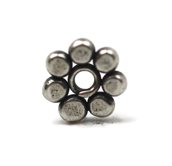 Bali Bead Sterling Silver Daisy Spacer Bead 1 x 5.5mm