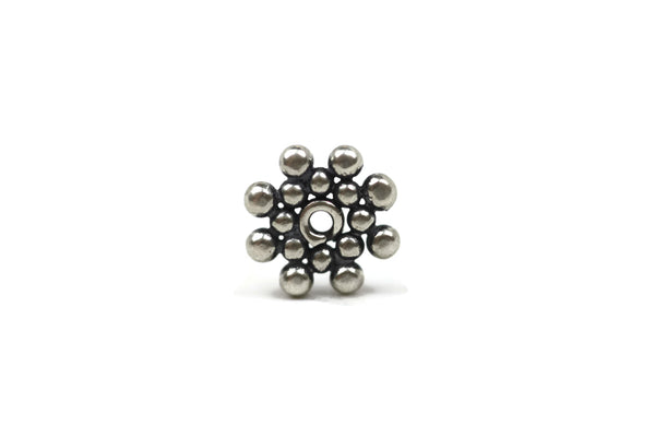 Bali Bead Sterling Silver Sun Daisy Spacer 1 x 7 mm