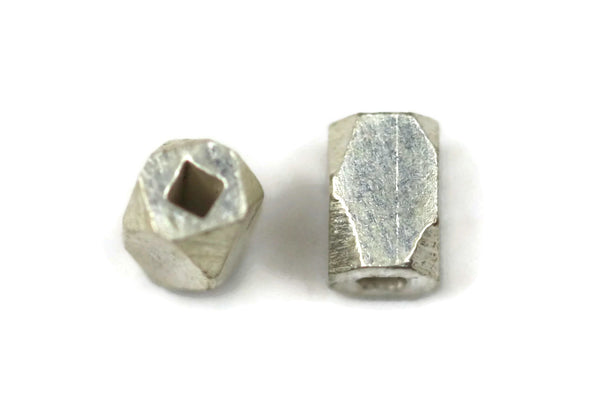 Bali Bead Sterling Silver Square Spacer 3 x 2 mm