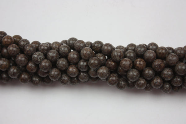 "Jasper Round Gemstone Beads 10mm 15.5"" Strand (39 Beads)"