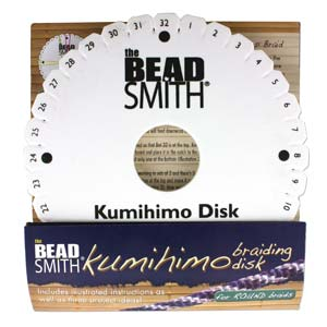 KUMIHIMO DISK 6IN ENG INST EA./ 35MM HOLE