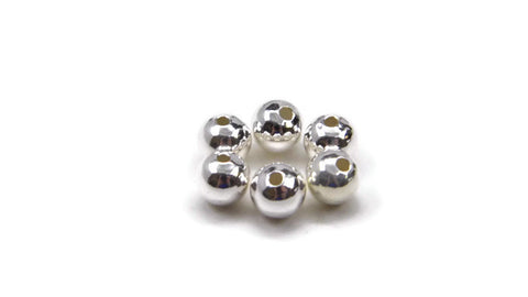 S/S SMALLER HOLE SPACER BALL 6MM