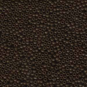 11/0 JAPANESE SEEDBEADS  10GM OPAQUE BROWN