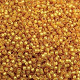 11/0 ROUND DURACOAT S/L MAIZE-10 GM