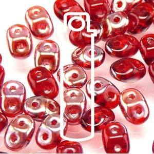SUPERDUO 2.5X5MM RUBY CELSIAN- 10 GM