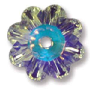 10MM SWAROVSKI FLOWER CRYSTAL AB