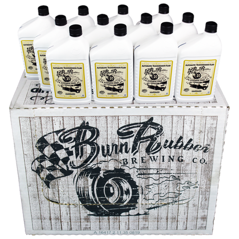 Burn Rubber Brewing Universal Synthetic Cider, Auto Transmission Fluid, 1.5 Case (18 Quarts)