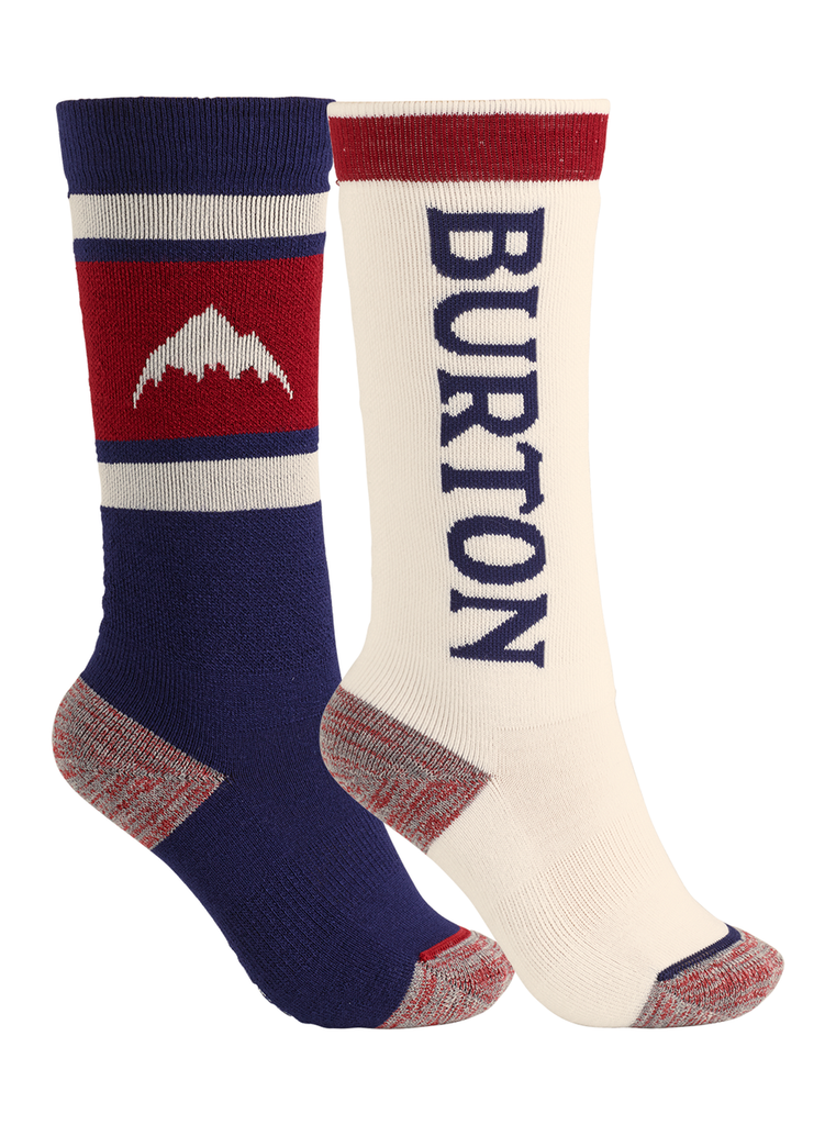 Burton Youth Weekend Midweight Snowboard Sock Two-Pack - Sun 'N Fun Specialty Sports