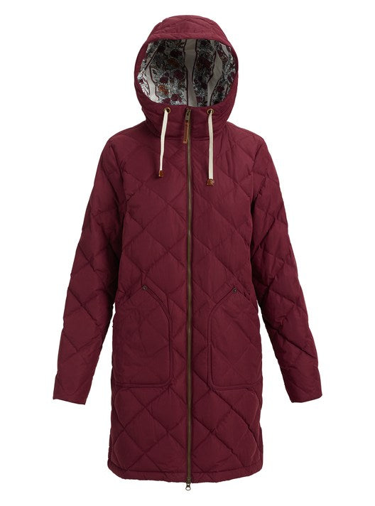 Burton Women's Bixby Long Down Jacket - Sun 'N Fun Specialty Sports