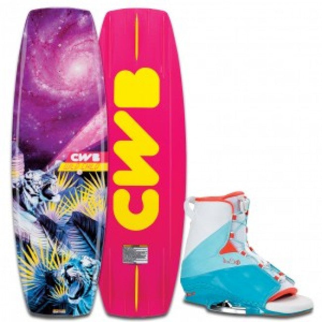 CWB Womens Wild Child w/ Karma Wakeboard Package - Sun 'N Fun Specialty Sports