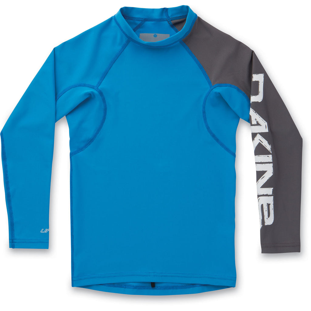 Dakine Boys Heavy Duty Snug Fit Long Sleeve Rashguard - Sun 'N Fun Specialty Sports