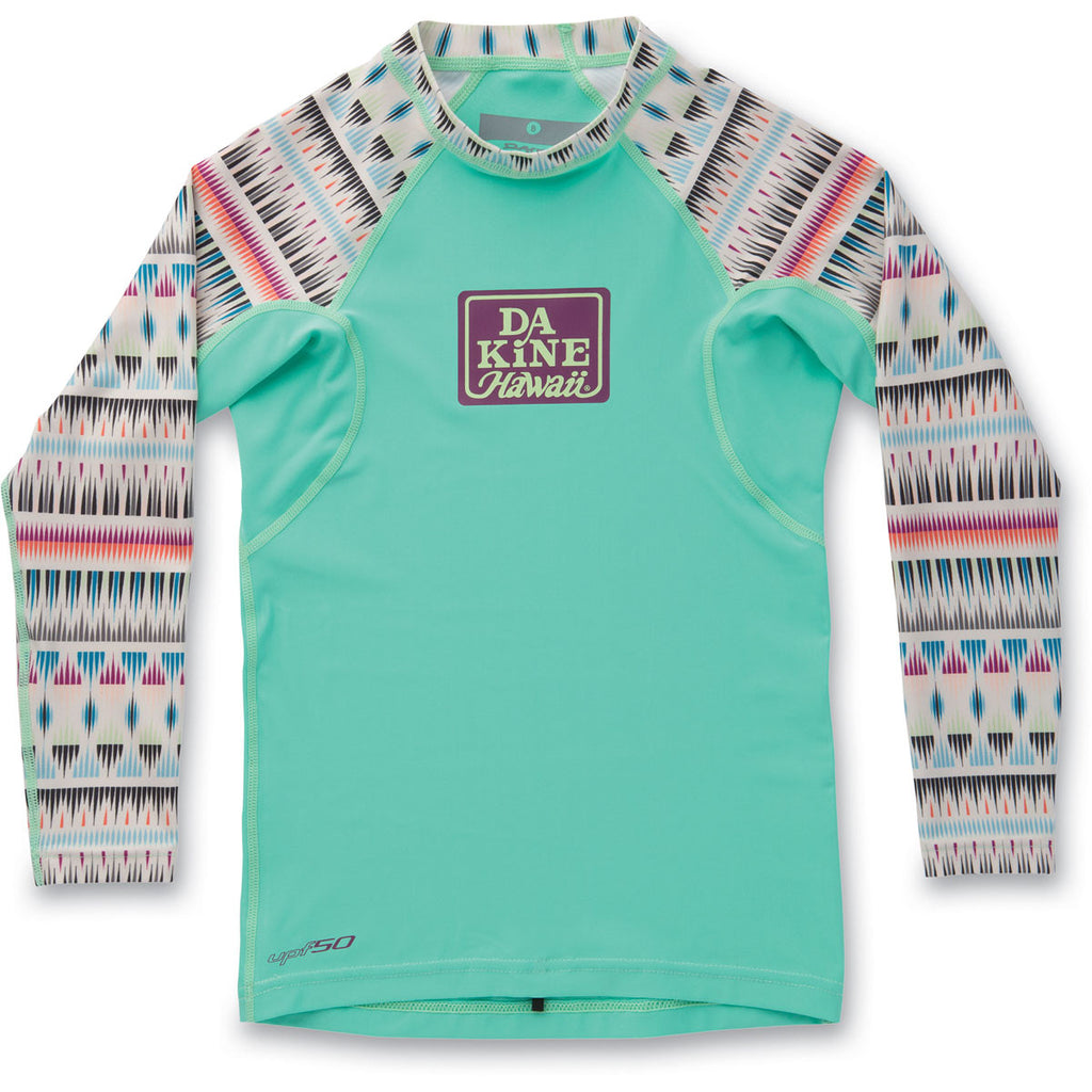 Dakine Girls Classic Snug Fit Long Sleeve Rashguard - Sun 'N Fun Specialty Sports