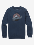 Burton Men's Retro Mountain Organic Crew Sweatshirt - Sun 'N Fun Specialty Sports