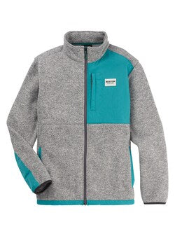 Burton Men's Hayrider Sweater Full Zip Fleece 2020 - Sun 'N Fun Specialty Sports
