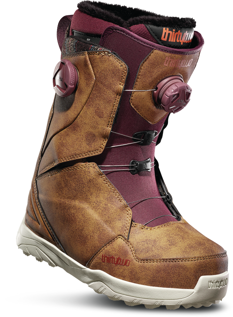 ThirtyTwo Women's Lashed Double Boa Snowboard Boots 2020 - Sun 'N Fun Specialty Sports