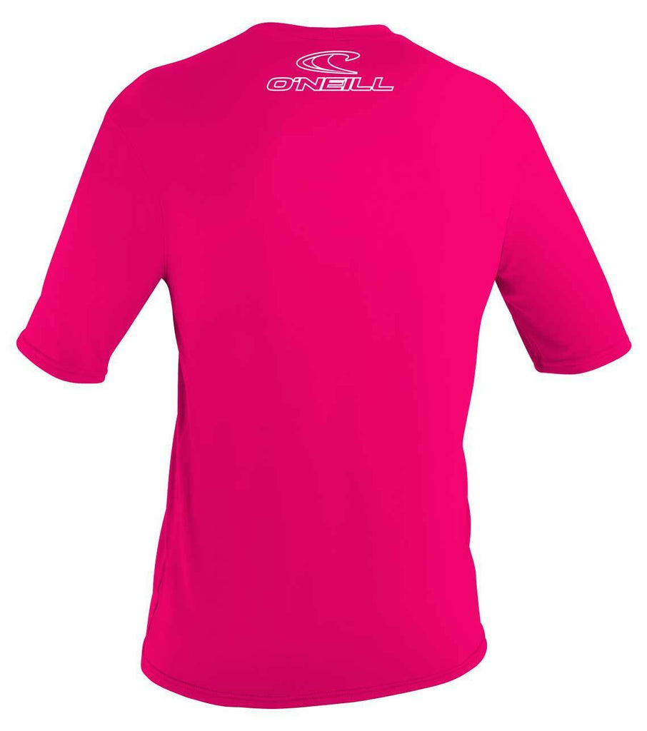 O'Neill Girl's Basic Skins Short Sleeve Rash Tee - Sun 'N Fun Specialty Sports