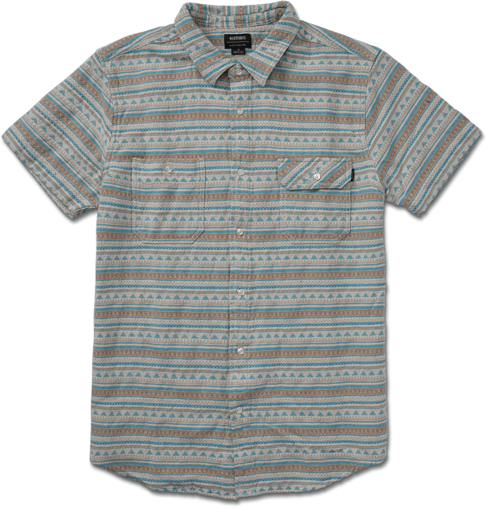 Etnies Men's Tribute Short Sleeve Button Up Shirt 2019 - Sun 'N Fun Specialty Sports
