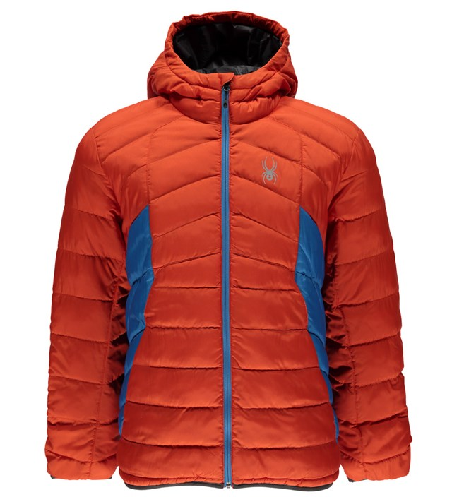 Spyder Men's Geared Hoody Synthetic Down Jacket - Sun 'N Fun Specialty Sports