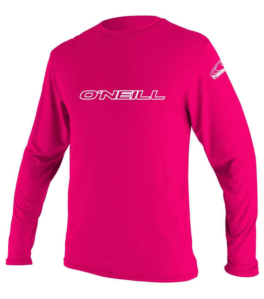 O'Neill Girl's Basic Skins Long Sleeve Rash Tee - Sun 'N Fun Specialty Sports