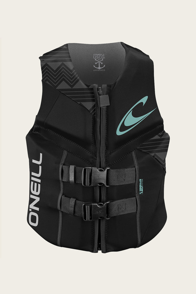 O'Neill Women's Reactor Full Zip USCG Life Vest 2019