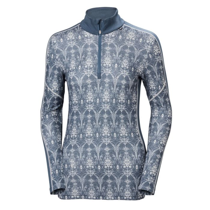 Helly Hansen Women's Lifa Mernio Graphic 1/2 Zip