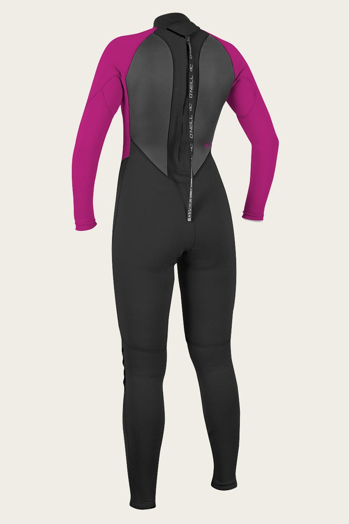O'Neill Women's Reactor II 3/2 Back Full Zip Full Wet Suit 2019 - Sun 'N Fun Specialty Sports