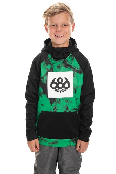 686 Boy's Bonded Pullover Hoody 2020