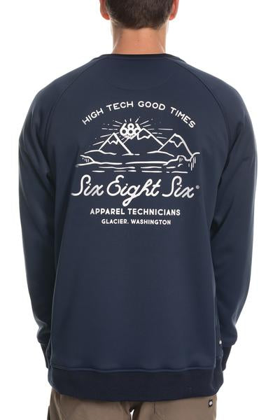 686 Men's Knockout Bonded Fleece Crew 2020