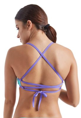 Speedo Women's Missy Franklin Signature Series: Colorblock Tie Back Top - Speedo Endurance Lite - Sun 'N Fun Specialty Sports