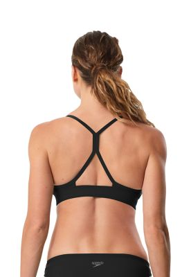 Speedo Women's Aqua Elite Strappy Bikini Top - Speedo Endurance Lite - Sun 'N Fun Specialty Sports