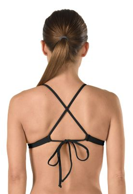 Speedo Women's Solid Triangle Tie Back Top - Speedo Endurance Lite - Sun 'N Fun Specialty Sports