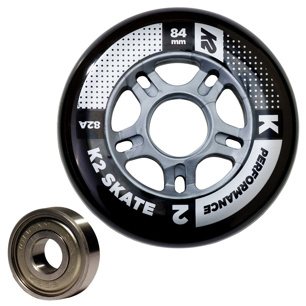 K2 Active 84MM Replacement Wheel and Bearing Set 2019 - Sun 'N Fun Specialty Sports