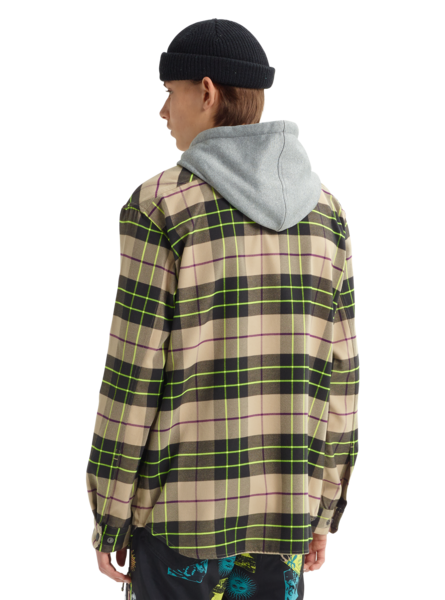 Analog Men's Integrate Hooded Flannel 2020