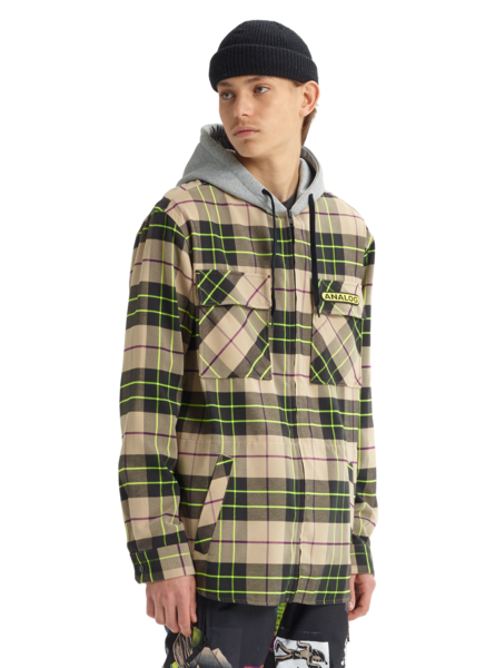 Analog Men's Integrate Hooded Flannel 2020 - Sun 'N Fun Specialty Sports