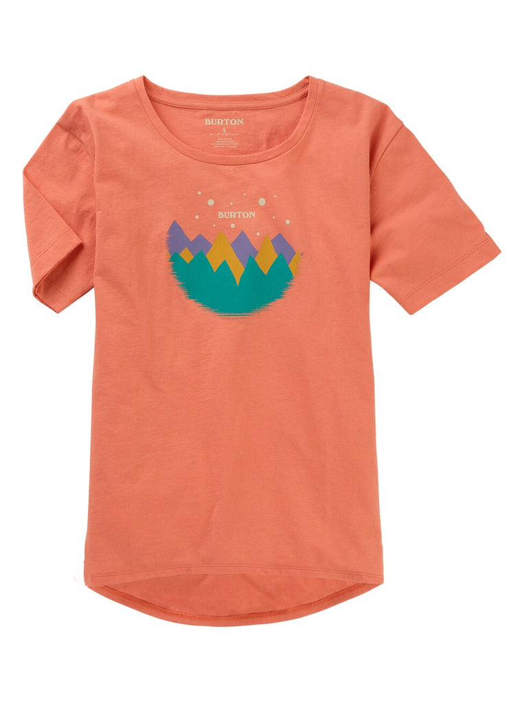 Burton Women's Ashmore Scoop Short Sleeve Tee 2020 - Sun 'N Fun Specialty Sports