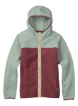 Burton Women's Hearth Snap-Up Fleece 2020 - Sun 'N Fun Specialty Sports