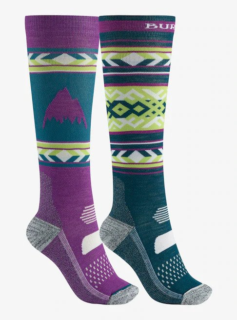 Burton Women's Performance Lightweight Sock 2-Pack 2020