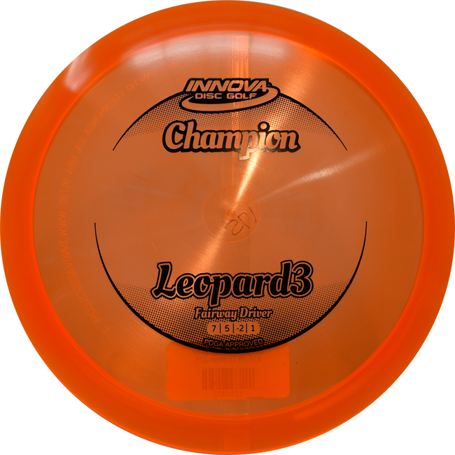 Innova Champion Leopard3 Fairway Driver Disc - Sun 'N Fun Specialty Sports
