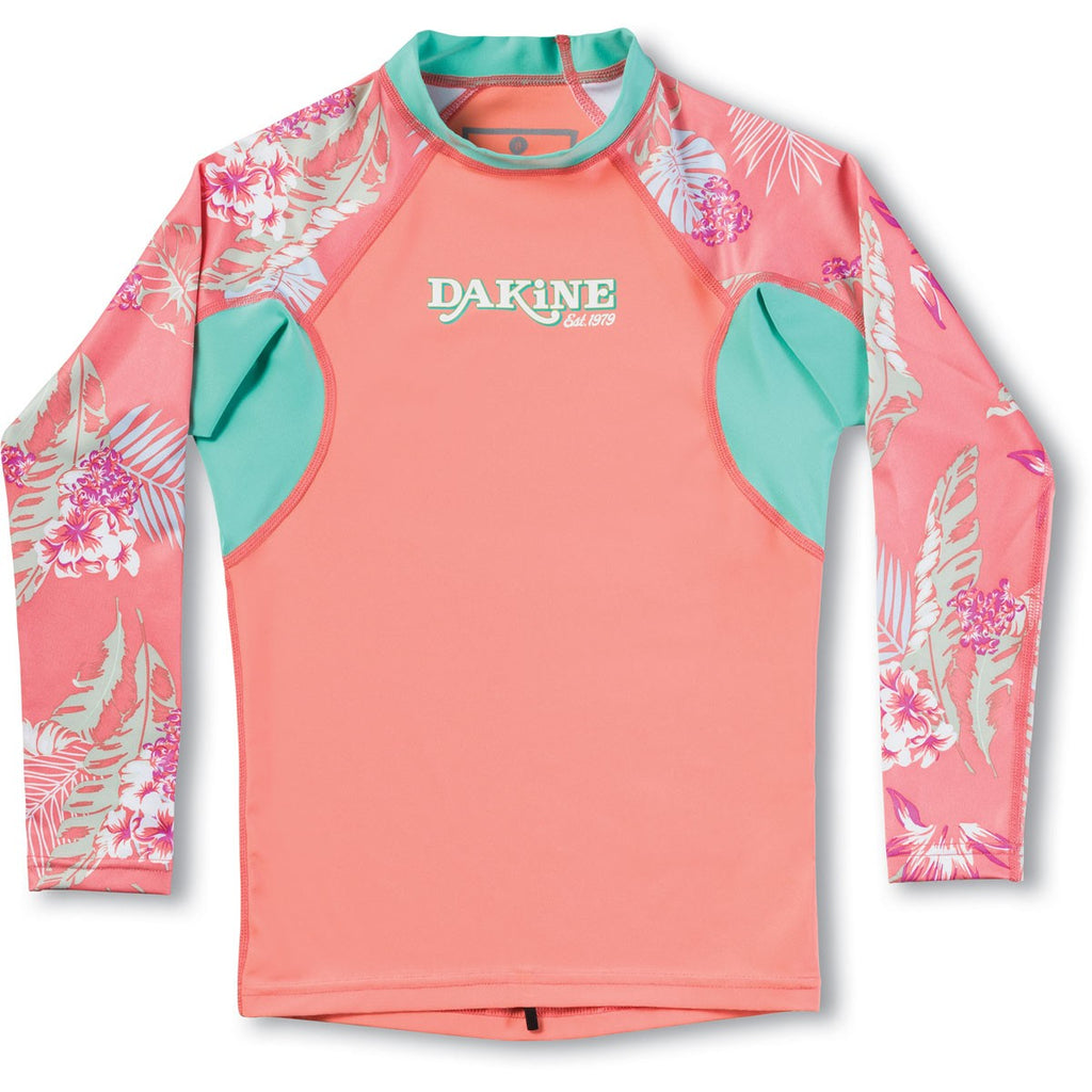 Dakine Girl's Classic Snug Fit Long Sleeve Rash Guard - Sun 'N Fun Specialty Sports